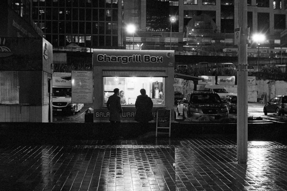 Night feeding | Leica M2 | Canon 50mm f/1.8 LTM | Kodak T-Max P3200