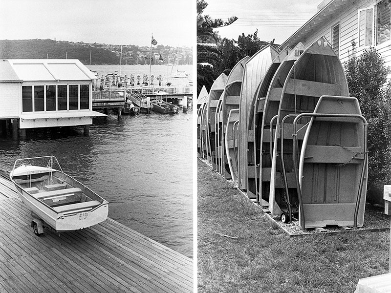 Boats in Manly | AGFA Karat 36 | Kodak Tri-X 400