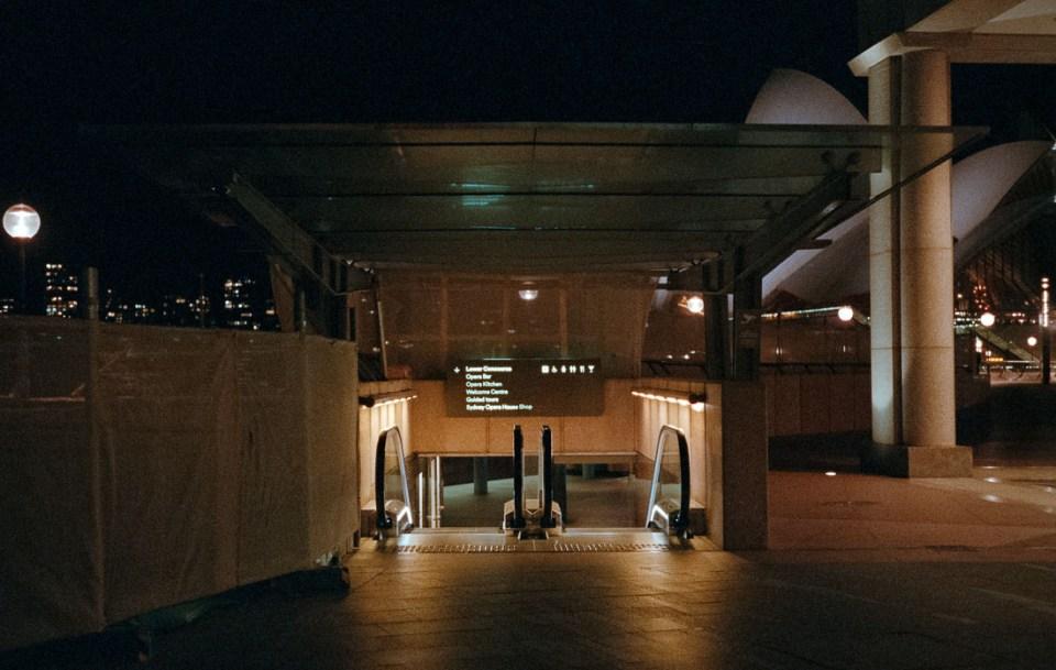 Escalator | Leica M3 | Summicron 5cm f/2 DR | Fujifilm Natura 1600