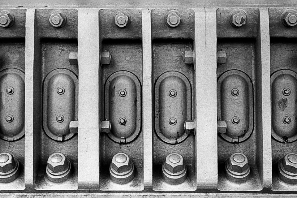 Harbour Bridge rivets and bolts | Leica M3 | Leitz Summicron 5cm f/2 DR | Ilford HP5 Plus