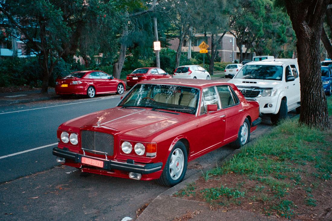 Red Rolls Royce | Pentax Espio 80V | Kodak Portra 400