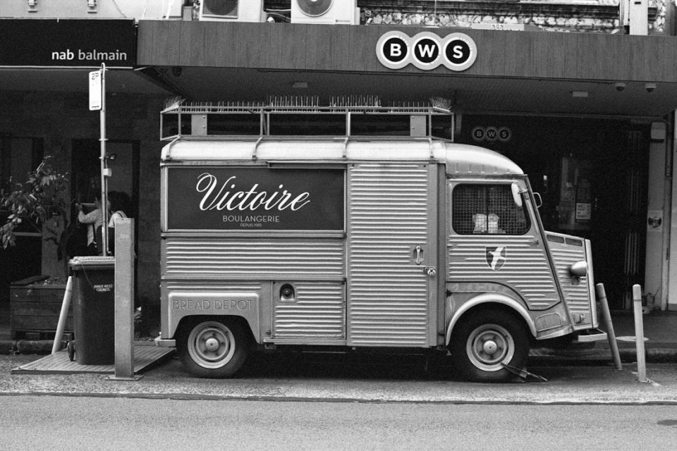 Victoire Boulangerie Bread Depot | Topcon RE Super | Topcor 58mm f/1.4 RE Auto | JCH Street Pan 400