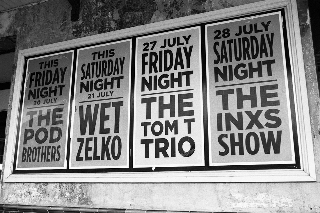 Friday/Saturday night | Topcon RE Super | Topcor 58mm f/1.4 RE Auto | JCH Street Pan 400