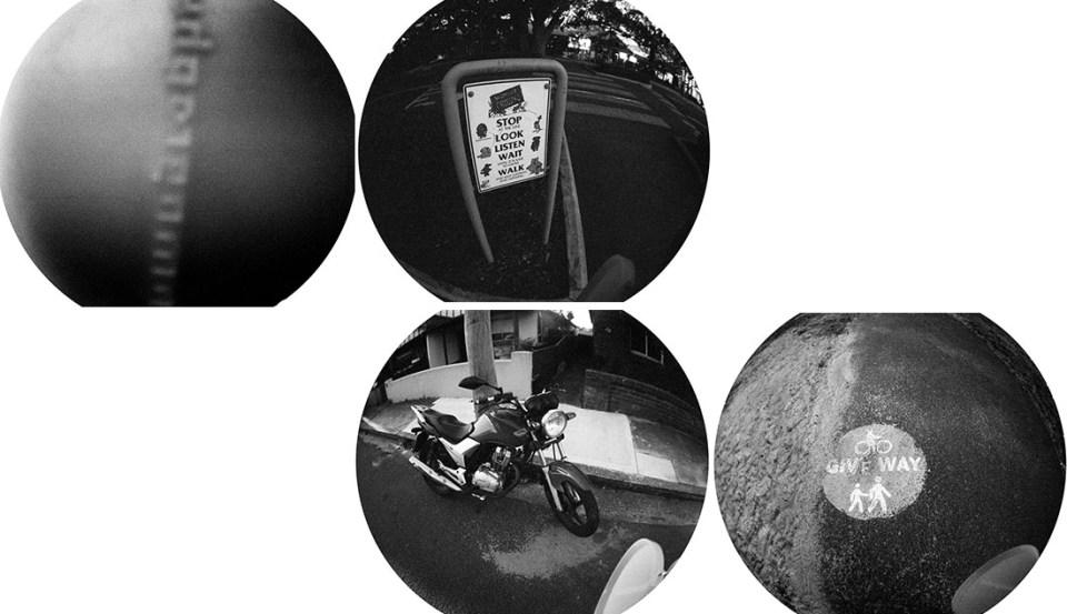Lens cap fails | Lomography Fisheye 2 | Ilford HP5 Plus