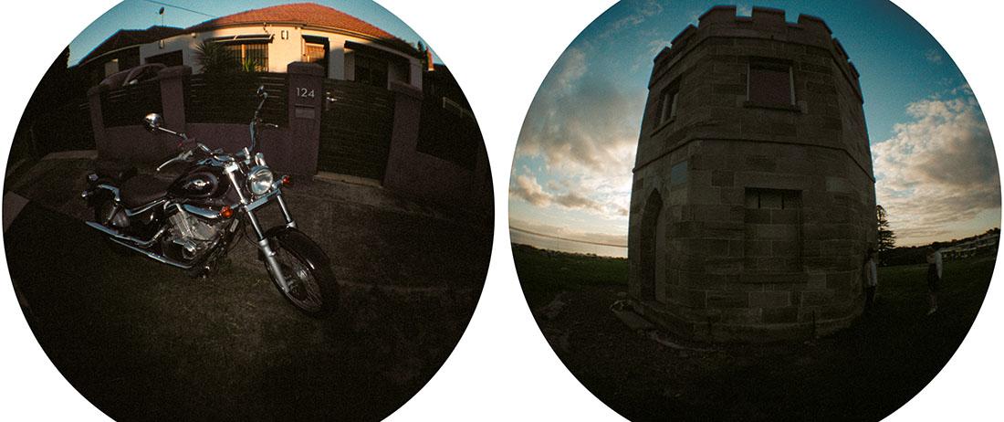 Lomography Fisheye 2 | Kodak Pro Image 100
