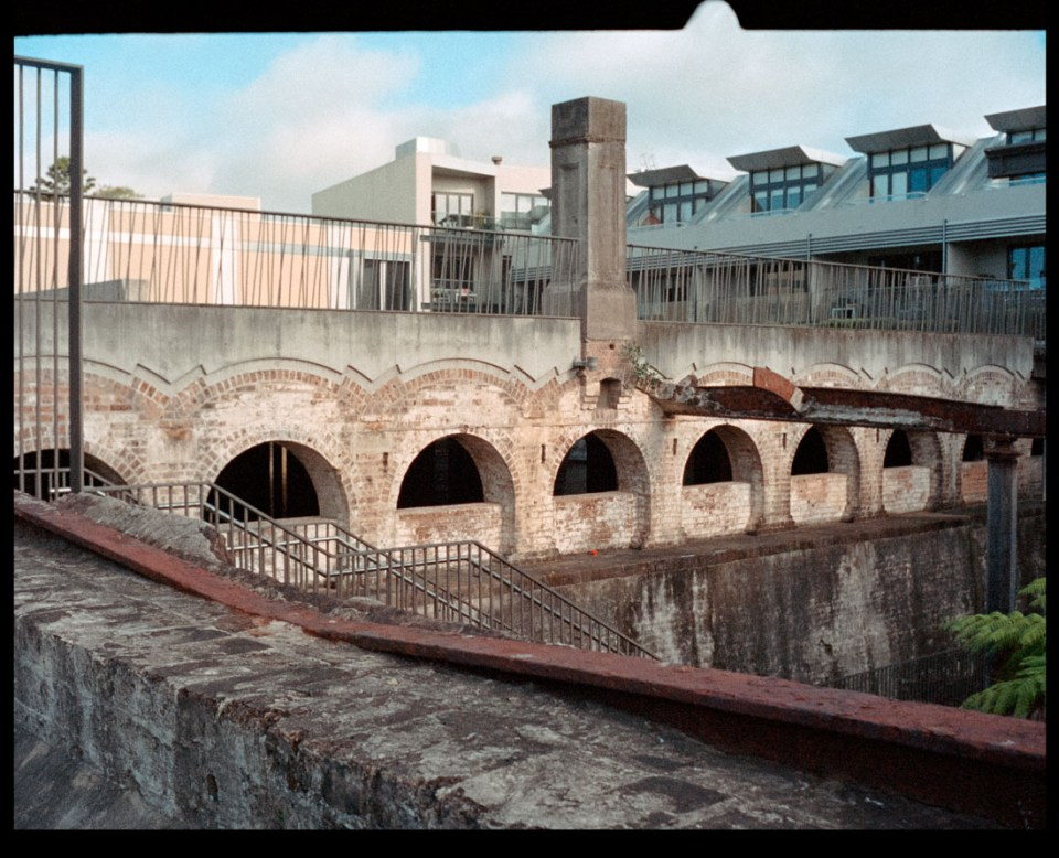 Paddington Reservoir Gardens | Agfa Optima-Parat | Kodak Portra 400