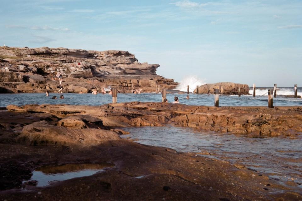 Maroubra Rock Pool | Voigtländer Bessa I | Kodak Portra VC 160 (expired)