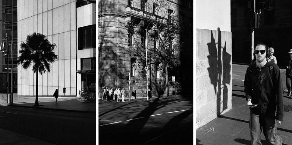 Sydney | Leica M2 | Leica Summicron 50mm f/2 | (l) (c) JCH Street Pan 400, (r) Ilford HP5 Plus @ EI 800