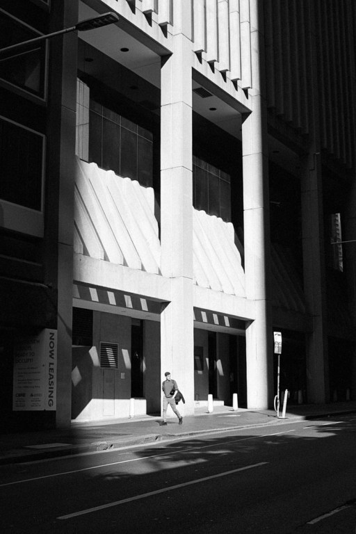 City shadows | Nikon F100 | Nikkor 50mm 1:1.8 AF-S G | Kodak Double X