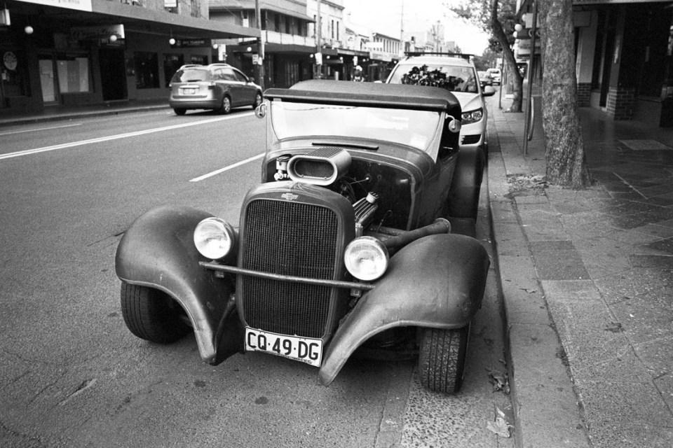 Chevrolet | Mamiya Press Super 23 | Sekor Seikosha-S 65mm f/6.3 | Kodak Tri-X