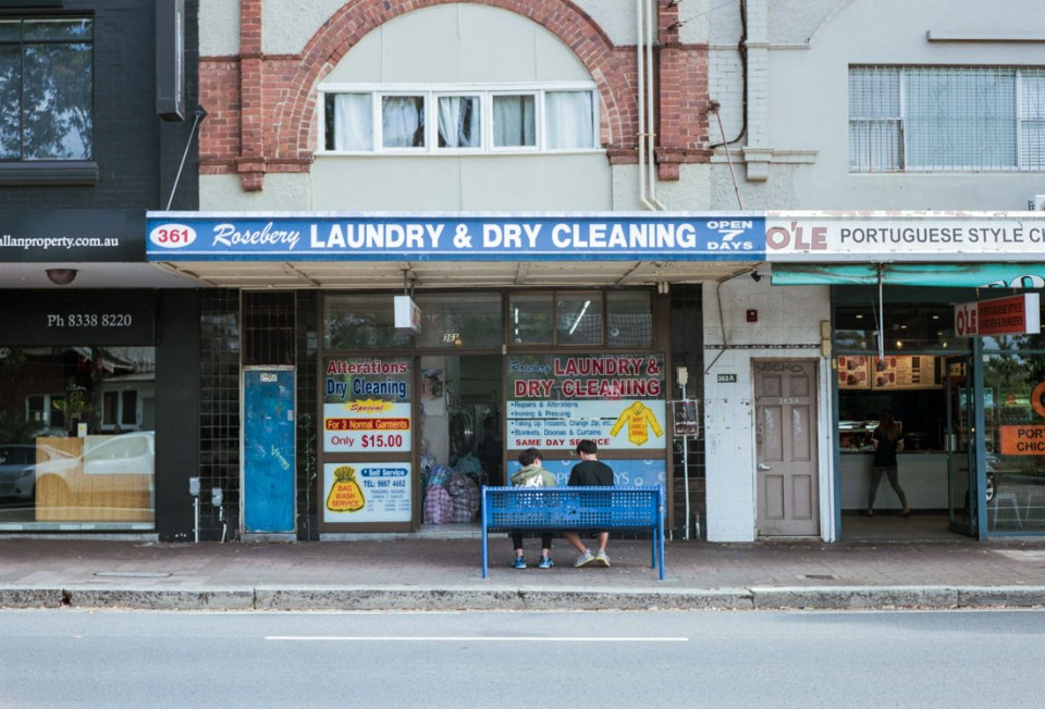 Laundry & Dry Cleaning | Mamiya Press Super 23 | Sekor 100mm f/3.5 | Fujifilm Pro 400H