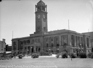 Newcastle City Hall on December 8, 1936.