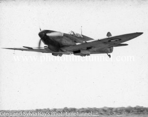 Spitfire fighter at Williamtown RAAF base Newcastle. (3)