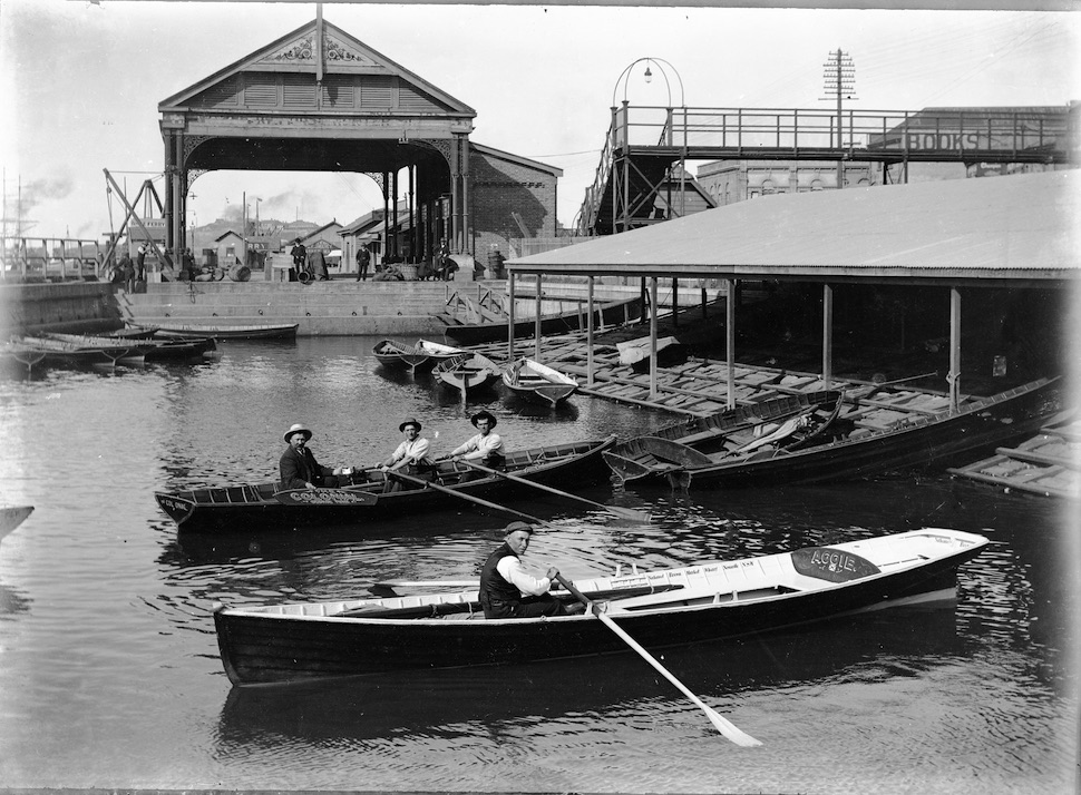Newcastle's lost boat harbour