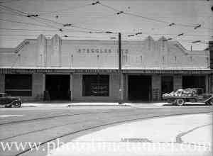 Steggles Produce store, Newcastle West, circa 1940s.