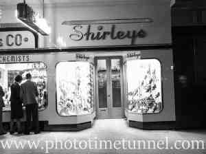 Shirleys shoe store in Soul Pattinson building, Hunter Street Newcastle, December 11, 1940.