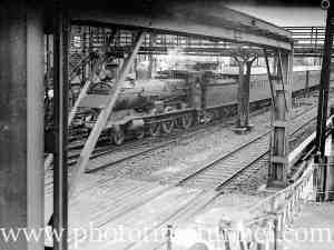 Locomotive 3201 at Newcastle, NSW.