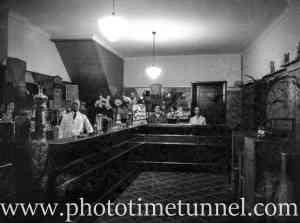 Interior of a confectionery store, Sydney NSW, circa 1920.