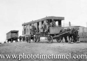 Old trams became Depression housing