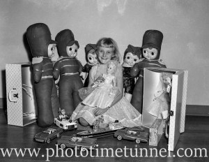 1960s Christmas toy display at Newcastle store Dickens and Carey. (1)