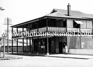 Imperial Hotel, Sawtell, NSW circa 1950s.
