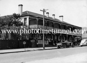 Commercial Hotel, Uralla, NSW, circa 1950s.