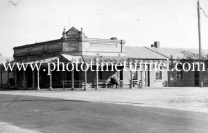 Farmers Arms Hotel, Tocumwal, NSW, circa 1950s.