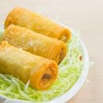【三件炸春捲小食】印刷級的美食相