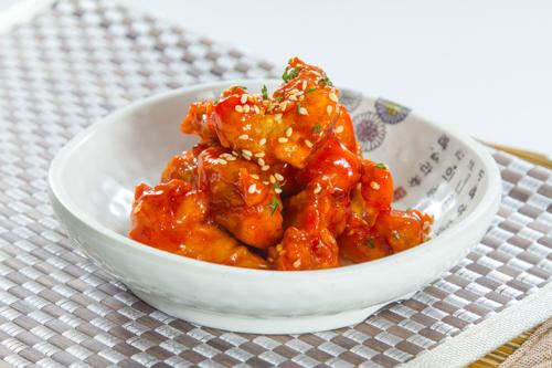 【韓式辣醬炸雞小食】可以下載的食物相