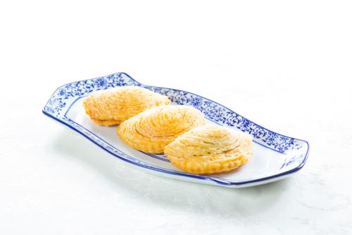 【三件傳統中式點心叉燒酥】給餐館的好用素材