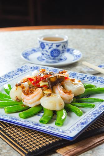 【惹味xo醬四季豆炒帶子蝦球】比自己拍攝更便宜的食物相片方案
