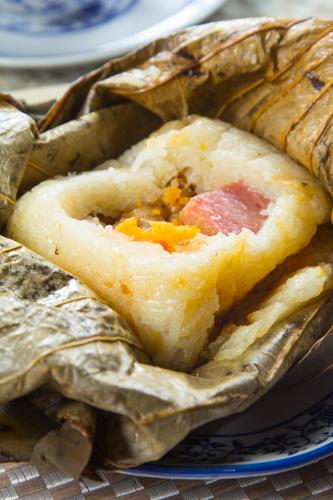 【有鹹蛋與金華火腿等超級足料點心糯米雞】大量美味畫像盡情用