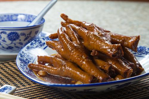 【香港地道美食鹵水雞腳】下載即用超方便餐牌相片