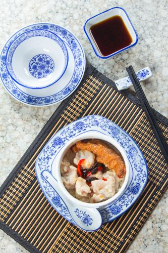 【港式早餐豉椒排骨鳳爪原盅蒸飯】給餐館的好用素材