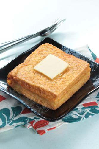 【經典茶餐西多士配鮮油】專業食物攝影師的圖片庫