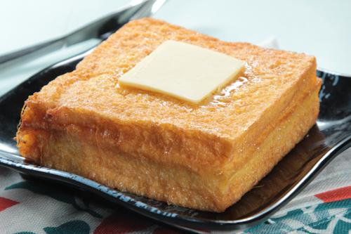【經典茶餐西多士配鮮油】給餐館的好用素材