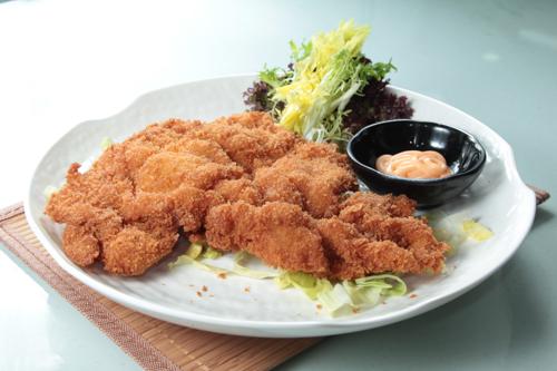 【日式大塊吉列豬扒配千島醬】可以下載的食物相