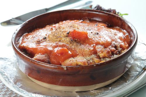 【鮮茄汁焗豬扒飯】給餐館的好用素材