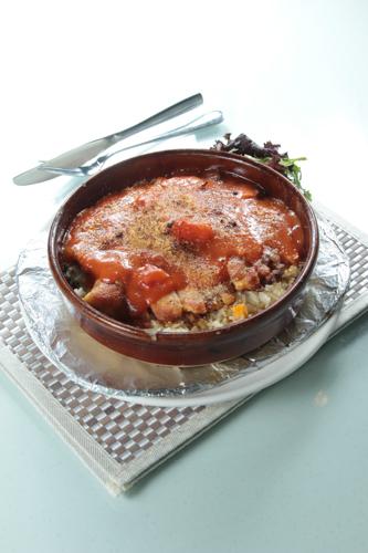 【鮮茄汁焗豬扒飯】可以下載的食物相