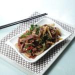 【青椒絲炒牛肉】比自己拍攝更便宜的食物相片方案