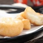 【日本料理店油炸小食流心芝士年糕】的圖庫相片
