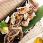 【新鮮日式海鮮料理醬油風味原隻燒魷魚】大量省錢素材畫像盡情用