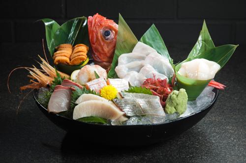 【高級刺身海鮮原條金目鯛魚生油甘魚鯛魚刺身拼盤】大量美味價廉畫像盡情用
