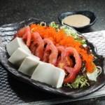 豆腐蕃茄蟹子沙律