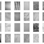 24種類のモノクロテクスチャー素材パック