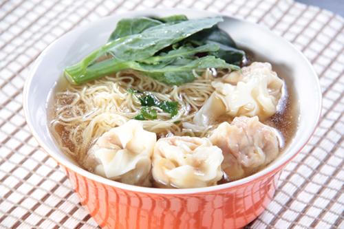 ワンタン麺のボウル