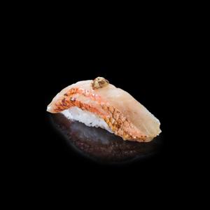 金目鯛寿司の切抜き画像・食べ物写真素材・商用ダウンロード可