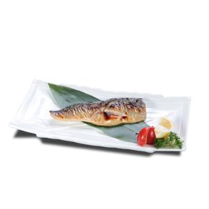 鹽燒鯖魚的去背退地食物素材相片