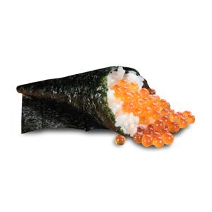 【三文魚子手卷】讓人放心幫襯的不單是食評其實賣相也重要