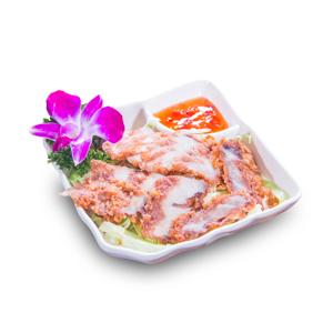 【烤豬頸肉】已剪去背景飲食業專用素材圖像